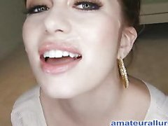 Miley is 18 years old, very cute and that sweetheart has returned for her First cum facial ever! This is the second time Miley has visted AmateurAllure.com, and I am going acquire my discharged at her this time. That Playgirl has an amazing, constricted body and